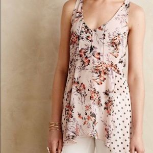 Anthropologie Vanessa Virginia Garden-Pop Top